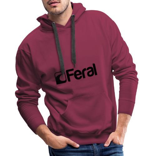 Feral Black - Men's Premium Hoodie