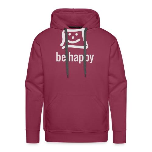 be happy by happy-pixel - Männer Premium Hoodie