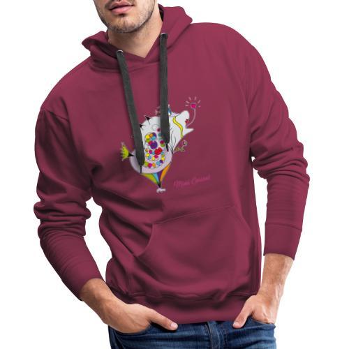 Mimi Corasol - Sweat-shirt à capuche Premium pour hommes