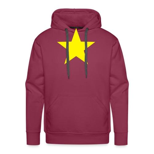 étoile couleurs modifia.. - Sweat-shirt à capuche Premium pour hommes