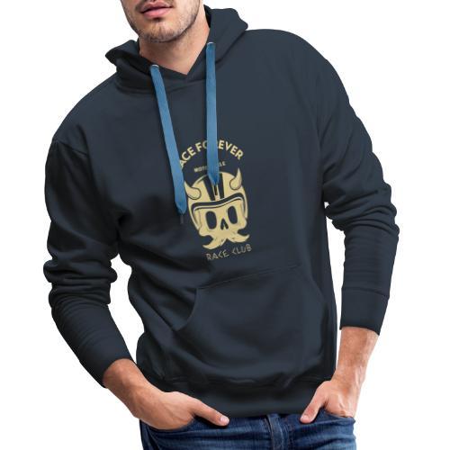 bikers racing club t shirt design template featuri - Herre Premium hættetrøje