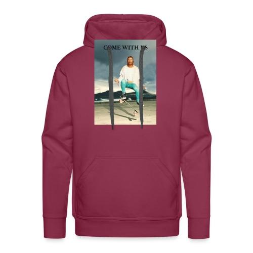 Jesus Skate - Sweat-shirt à capuche Premium pour hommes