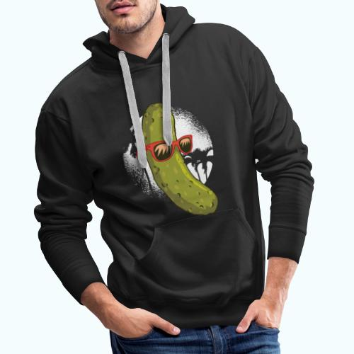 Surfer cucumber - Men's Premium Hoodie