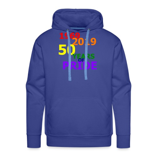 50 Jahre CSD - Männer Premium Hoodie