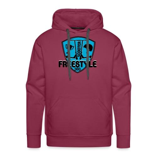 blason scooter freestyle 360 - Sweat-shirt à capuche Premium pour hommes