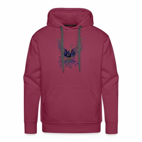 TribalBird phoenix EgyptBlue - Sweat-shirt à capuche Premium pour hommes