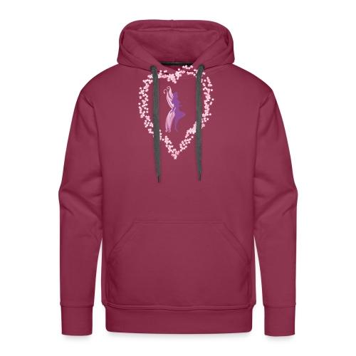 coeur de fée - Sweat-shirt à capuche Premium pour hommes