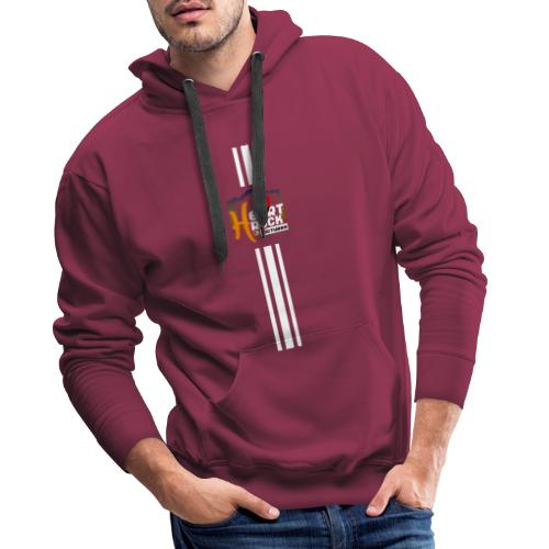 stripes02blue - Männer Premium Hoodie