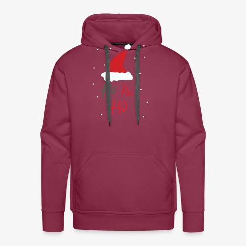 hohoho - Sweat-shirt à capuche Premium pour hommes