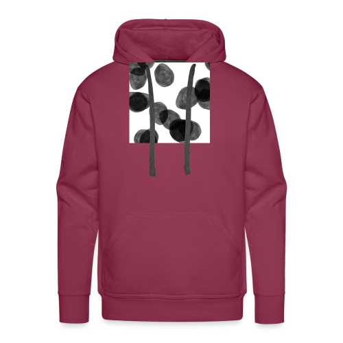 Black clouds - Men's Premium Hoodie