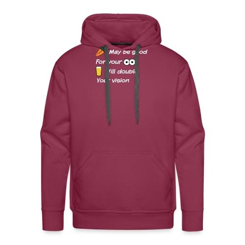 Wortels en ogen - Mannen Premium hoodie