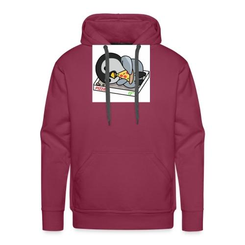 Pingüino - Sudadera con capucha premium para hombre