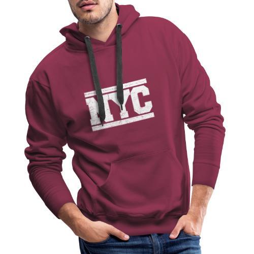 NYC - Sudadera con capucha premium para hombre