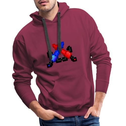 Tyrolium Mine-Craft - Sweat-shirt à capuche Premium pour hommes