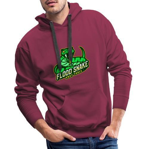 Floodsnake mit Logo - Männer Premium Hoodie