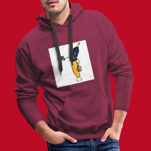 RøverBananen - Herre Premium hættetrøje