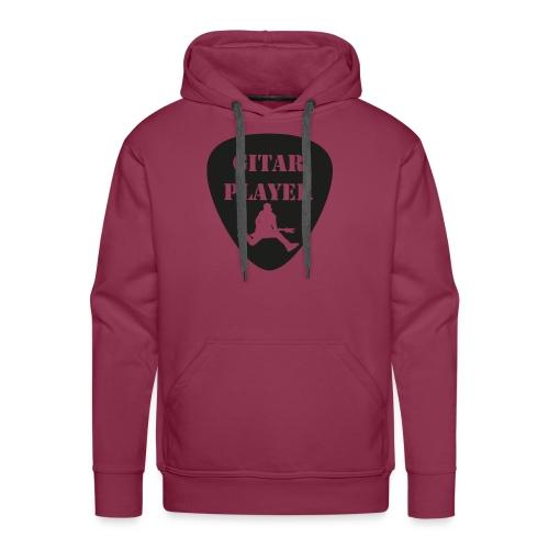 GitarSpringer T-Shirt mit Action Gitarrist - Männer Premium Hoodie