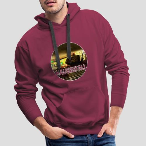 Mausbefall Wortspiel Maus Panzer T-Shirt - Männer Premium Hoodie
