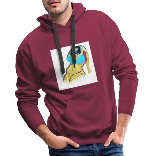 Corporeo - Sudadera con capucha premium para hombre
