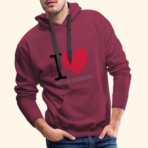 Love is in the Kurstadt - Männer Premium Hoodie