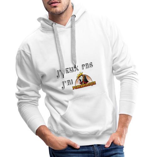 J'peux pas j'ai PB - Sweat-shirt à capuche Premium pour hommes