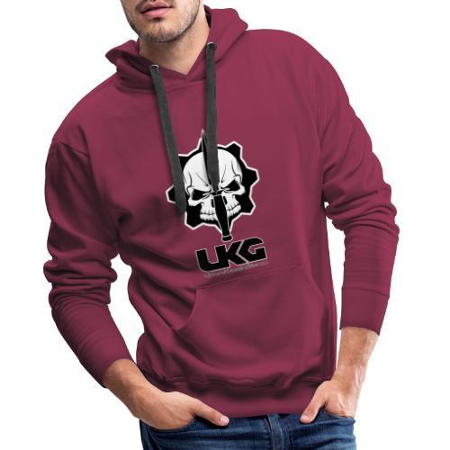 UGK logo ufficiale - Felpa con cappuccio premium da uomo