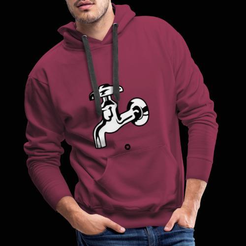 Quelle jolie robine robinetterie ! - Sweat-shirt à capuche Premium pour hommes