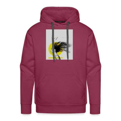 mama afrika - Sweat-shirt à capuche Premium pour hommes