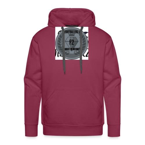 F2FOOTBALLERZ Z youtube kanaal T shirt - Mannen Premium hoodie