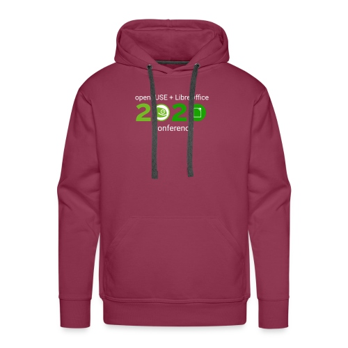 openSUSE + LibreOffice Conference 2020 - Men's Premium Hoodie