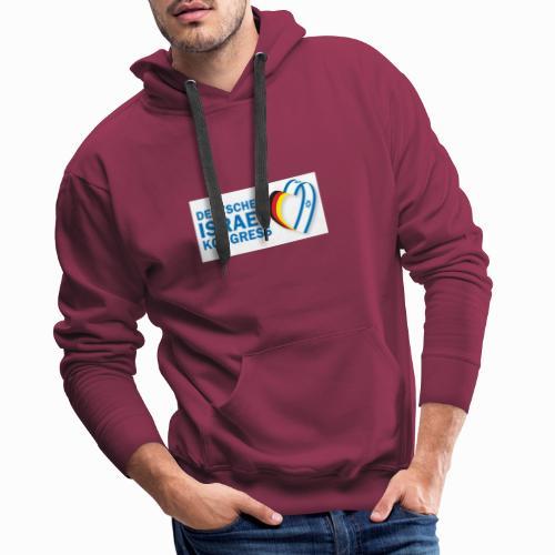 Logo Deutscher Israelkongress - Männer Premium Hoodie