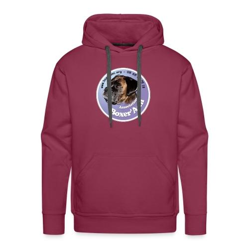 logo boxerami - Sweat-shirt à capuche Premium pour hommes
