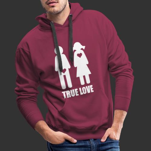 True Love - Premiumluvtröja herr