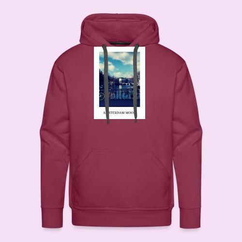 AMSTERDAM MOOD - Sweat-shirt à capuche Premium pour hommes