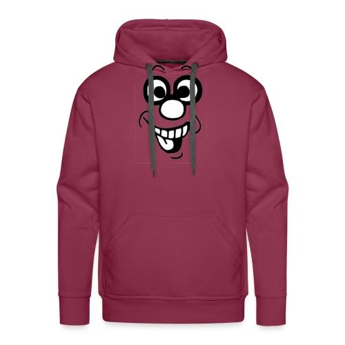 comic bel'dent - Sweat-shirt à capuche Premium pour hommes