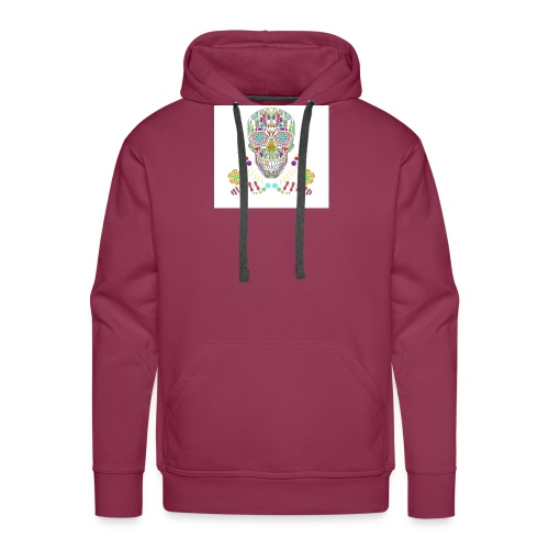 Bunter Totenkopf - Männer Premium Hoodie