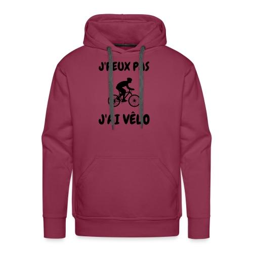 JPEUX pas Jai velo - Sweat-shirt à capuche Premium pour hommes
