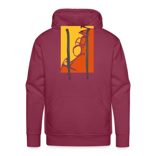 Männer-T-Shirt Robin scripted, schwarz - Männer Premium Hoodie