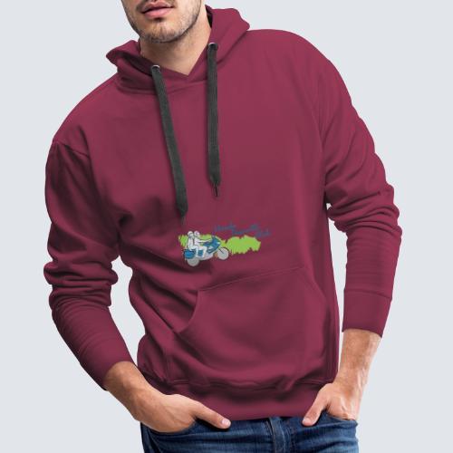 HDC logo - Mannen Premium hoodie