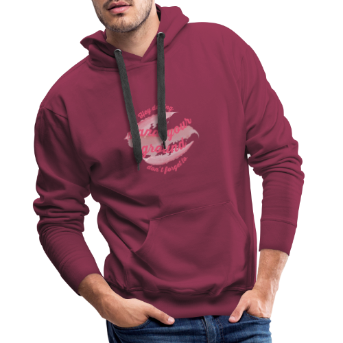 Do not forget to stand your ground - Men's Premium Hoodie