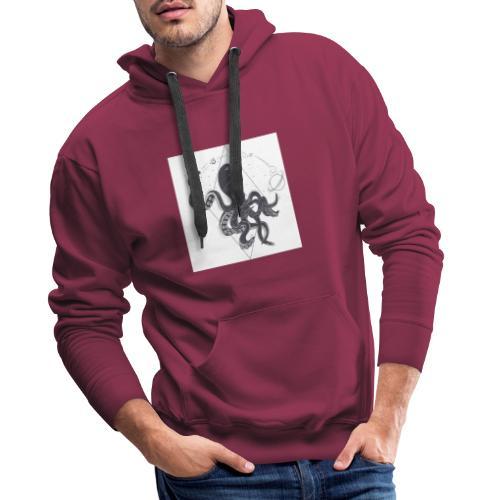 pulpo estelar - Sudadera con capucha premium para hombre
