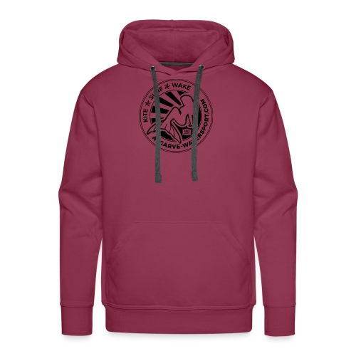 AWS mermaid round beams - Men's Premium Hoodie