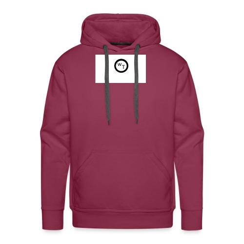 LOGO WT - Sudadera con capucha premium para hombre