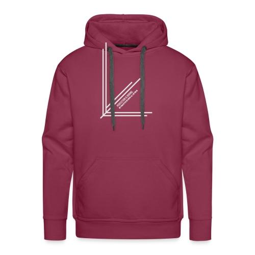 Perfection_Black - Mannen Premium hoodie