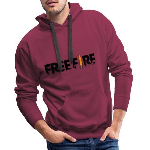 MGO Free Fire - Sweat-shirt à capuche Premium pour hommes