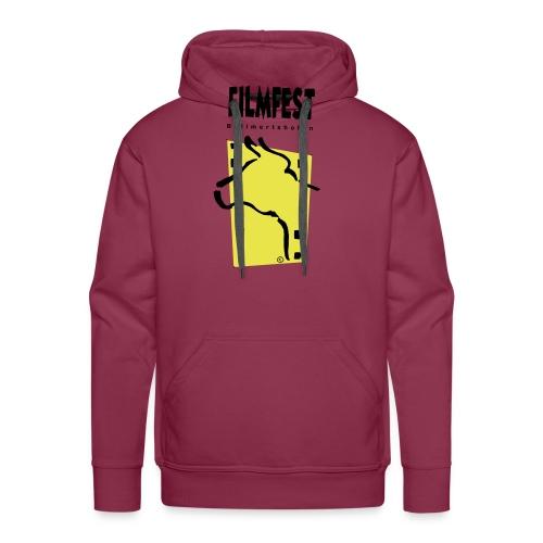 Filmfest Logo - Männer Premium Hoodie