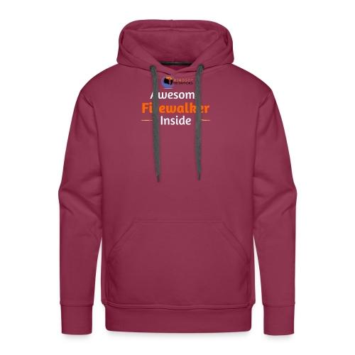 Awesome Firewalker - Men's Premium Hoodie