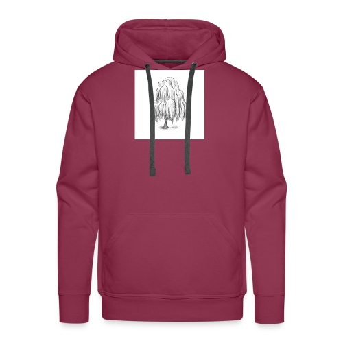 Willow Sketch - Men's Premium Hoodie