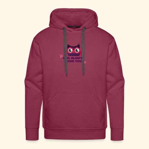 Eulen Design - Männer Premium Hoodie