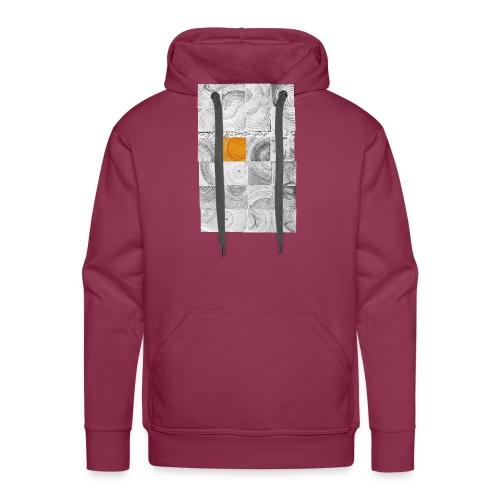 Cubes de Bois - Sweat-shirt à capuche Premium pour hommes
